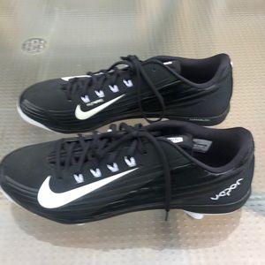 Nike Flywire Baseball Cleats -size 14 black